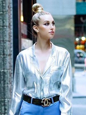 Whitney Port's Chic H&M Shirt Can Double as a Halloween Costume