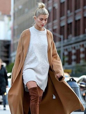 The Low-Key Way to Style Over-the-Knee Boots