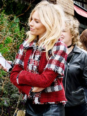 Try Sienna Miller's Outfit When You're Over Your Skinny Jeans