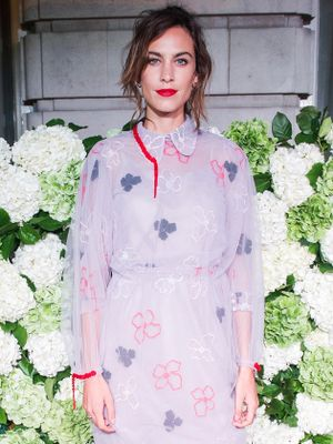 What Cool Girls Wear to a Holiday Party, According to Alexa Chung