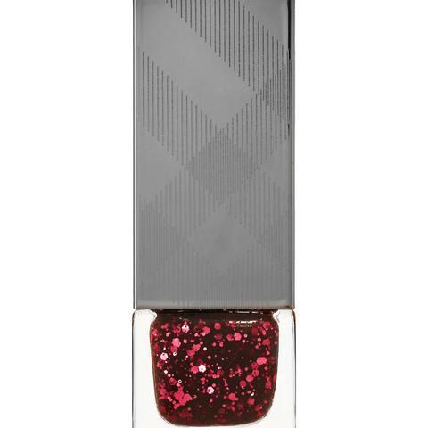 Nail Polish in Ruby Glitter