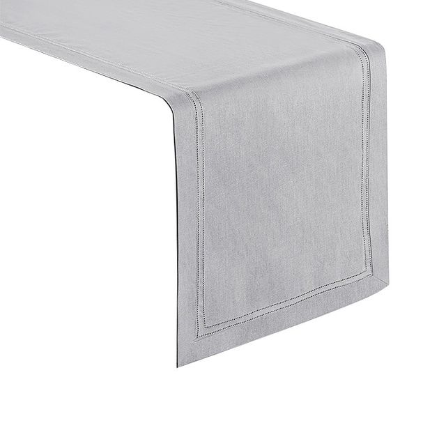 gray table runner