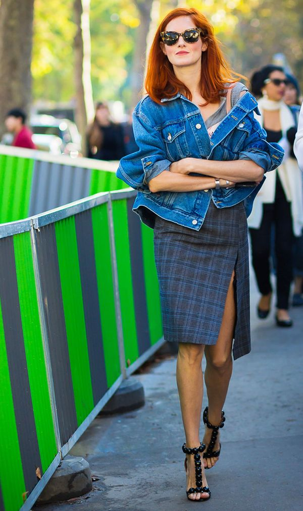 Taylor Tomasi Hill makes these Alaïa sandals look as comfortable as sneakers.