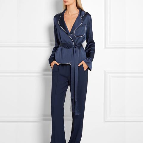 Silk-Satin Jacket