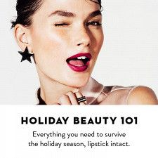 Holiday Beauty 101