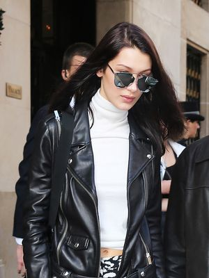 Bella Hadid Found a Clever Purpose for Her Leather Jacket