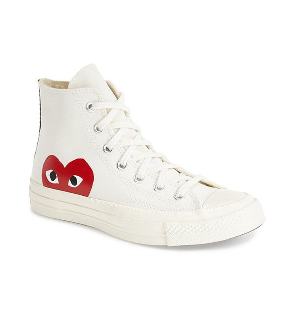 Comme des Garçons Play Women's Chuck Taylor 1970s High-Top Sneakers
