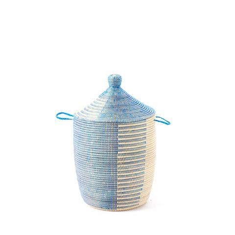 Graphic Printed Medium Baskets