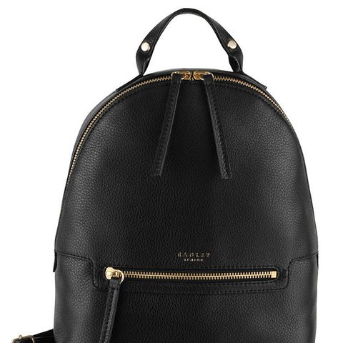 Great Eastern Street Leather Backpack