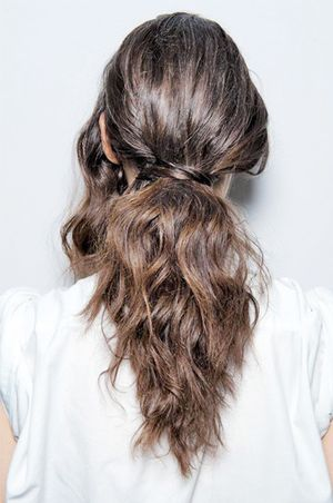 Awesome Runway Hairstyles  Minutes Give Fine Hair An Extra Couple Of Minutes When You Take Them Out, Youll Have Loose Waves Touch It Up Wrap Wonky Bits Around A Oneinch Iron, Then Tug The Ends To Loosen The Curl So It Blends In On
