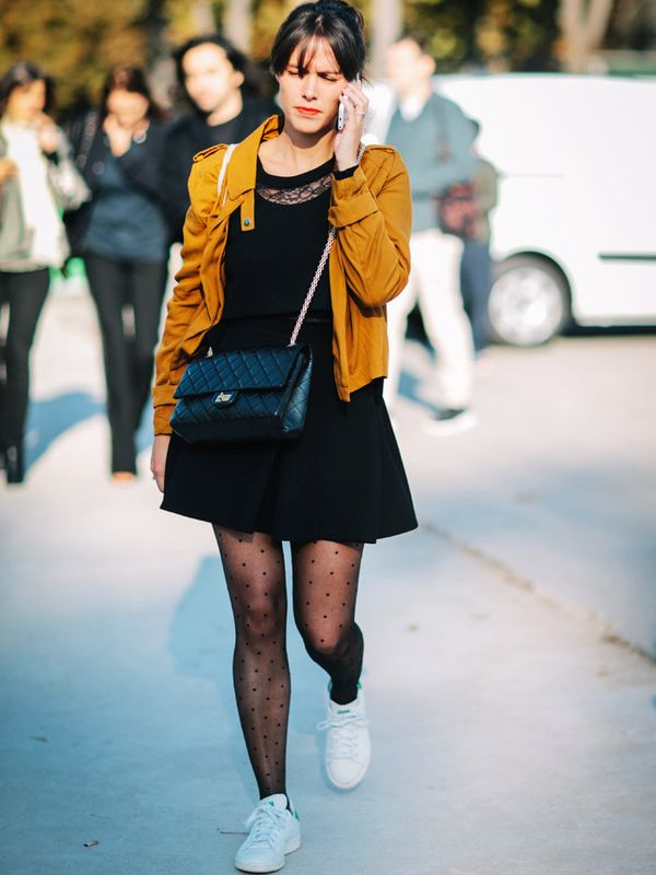 The New Rules of Wearing Tights, According to Stylish Girls