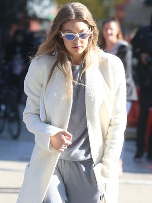 The Gigi Hadid Way to Wear a Head-to-Toe Sweat Suit