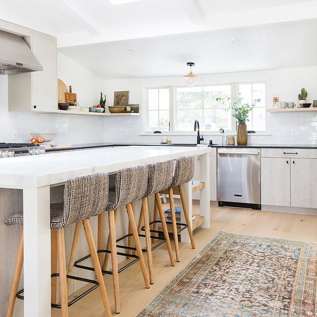 Before and After: Inside Amber Interiors' Boho-Chic Kitchen Renovation