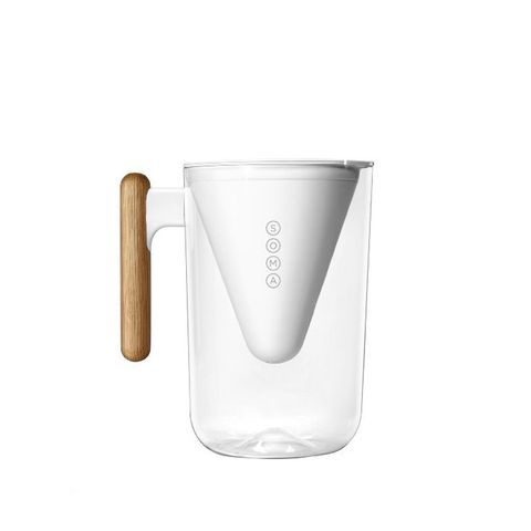 Sustainable Pitcher and Plant-Based Water Filter