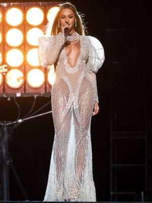 Beyoncé's Naked Dress Is Like Nothing You've Seen Before