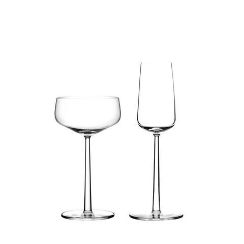 Set of 2 Essence Champagne Glasses