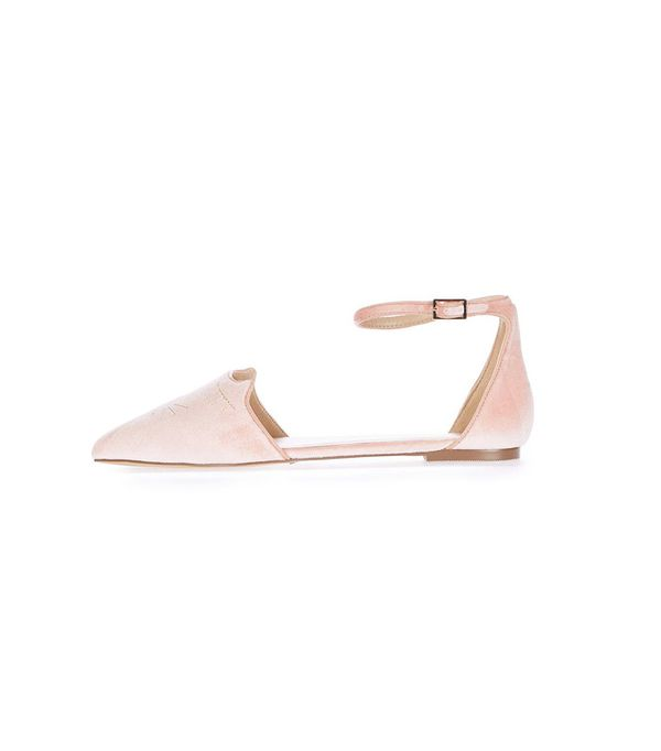 Flat Bridal Shoes: Topshop