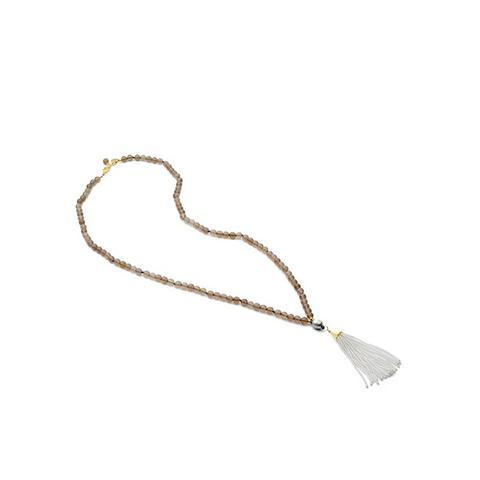 Single Pearl Tassel Necklace