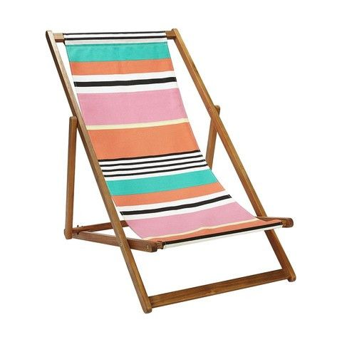 Kmart Deck Chair - Striped