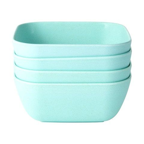 Matte Finish Bowls - Mint, Set of 4