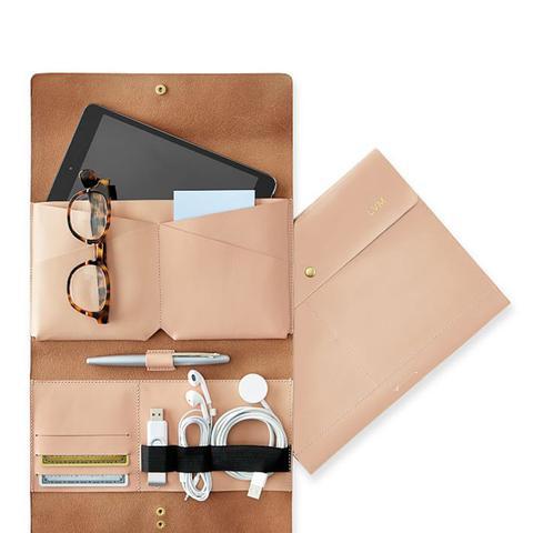 Leather Tech Envelope