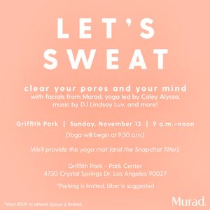 RSVP for a Morning of Beauty and Wellness This Sunday