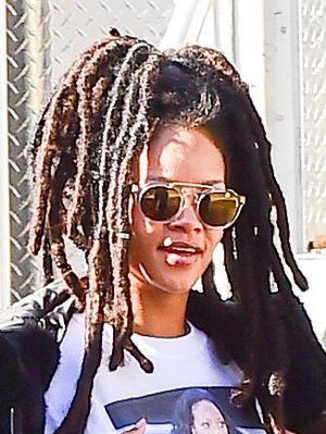 Rihanna Just Gave Us the Best (and Funniest) Outfit of Election Day