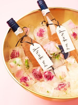 DIY: How to Make Petal Ice Cubes