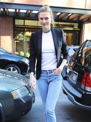Karlie Kloss in Gigi Hadid's Shoes Is the Ultimate Sign of Friendship