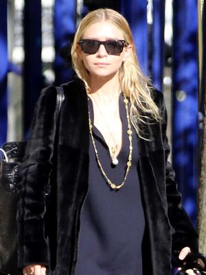 This Is What Ashley Olsen Does When She's Tired of Her Heels
