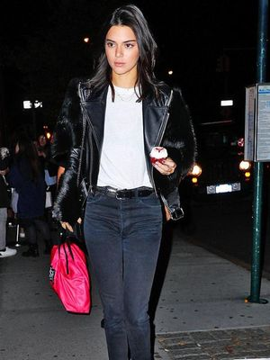 How Kendall Jenner Switches Up Her Go-To Nighttime Outfit Formula