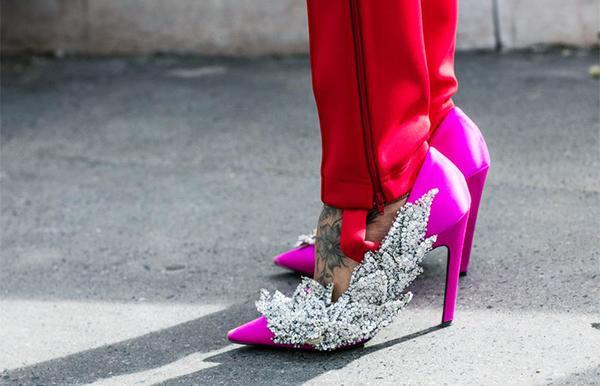7. Stirrup Pants (and Diamanté)