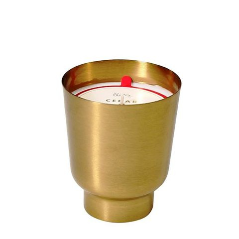 Bella Holiday Metal Container Candle