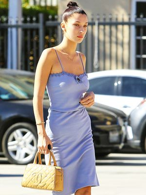 Why These Are the Coolest Shoes to Wear With Your Slip Dress