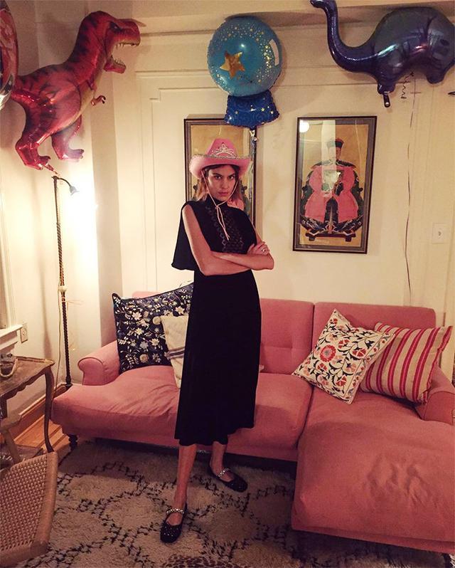 Alexa Chung's Sparkly Birthday Flats Are Amazing