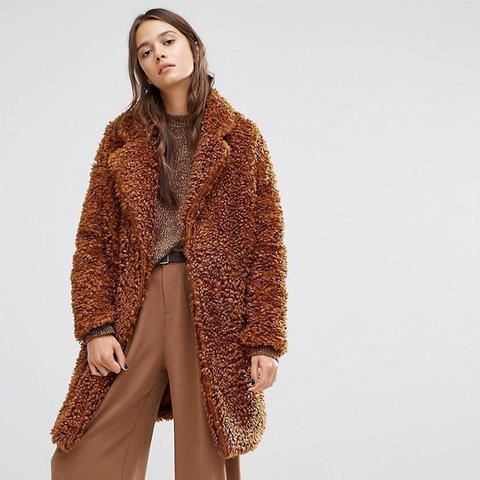 Fluffly Teddy Bear Coat