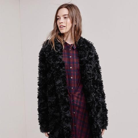 Mohair Teddy Bear Coat