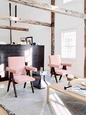 9 Stylish Rooms That Prove Blush Is the New Black
