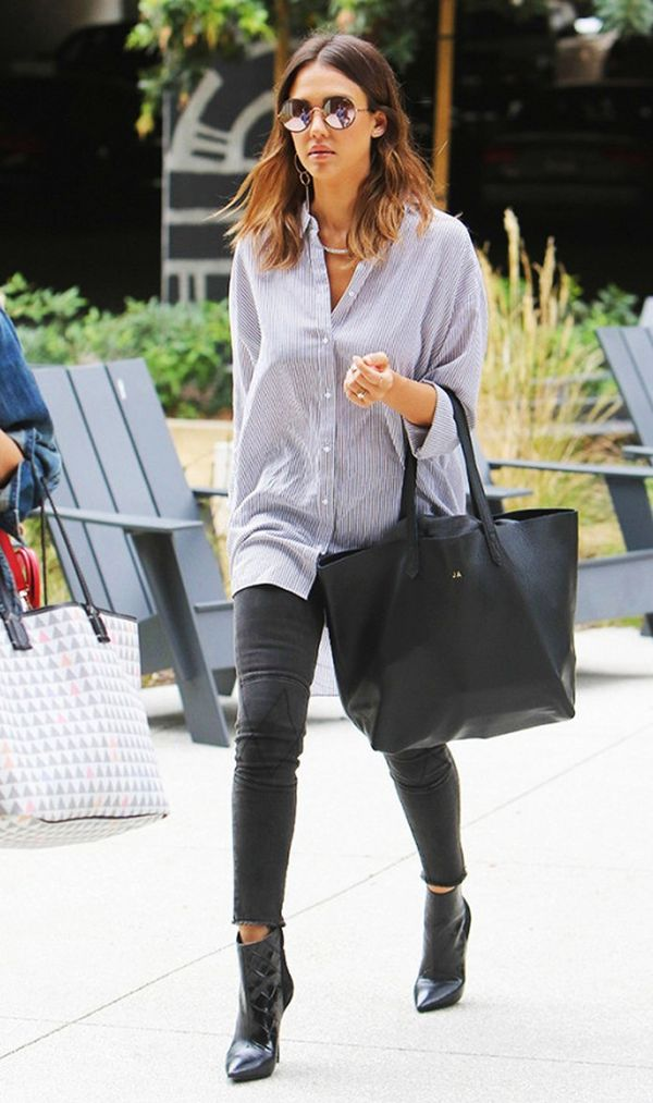How to Wear Ankle Boots and Skinny Jeans Like a Celebrity ...