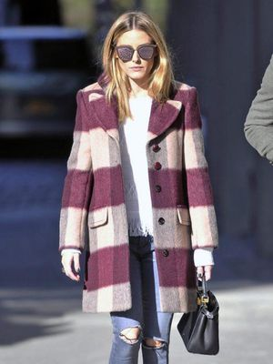 You're Going to Love Olivia Palermo's Colorful Take on Coat Season