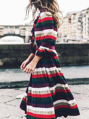 The Holiday Party Dress Style That's Universally Flattering