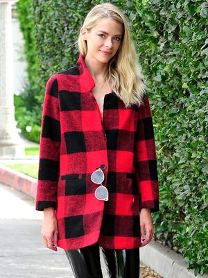 You'll Never Guess Where Jaime King Scored Her Plaid Winter Coat