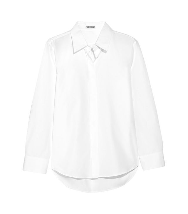 Jil Sander Valentina Cotton-Poplin Shirt