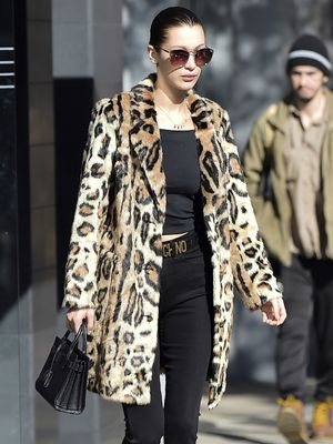 The Bella Hadid Way to Wear This Major Winter Trend