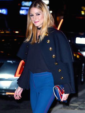 This Olivia Palermo Outfit Will Make You Look Taller
