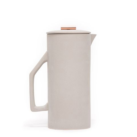 French Press in Grey