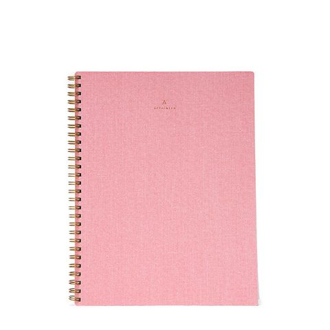 Notebook in Blossom Pink