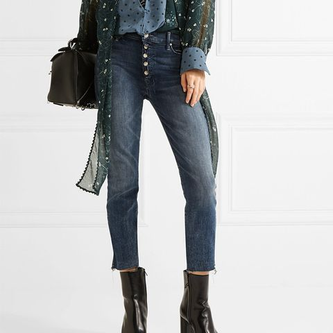 The Fly Cut Stunner Distressed Jeans