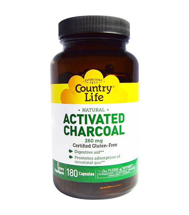 Where do you find activated charcoal