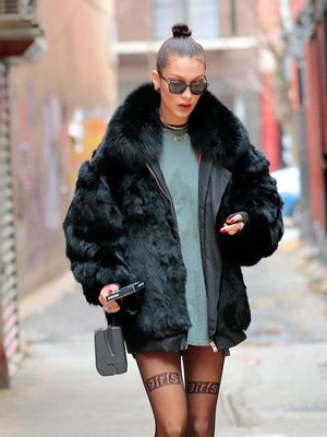 Bella Hadid Makes a Case for This Winter Staple